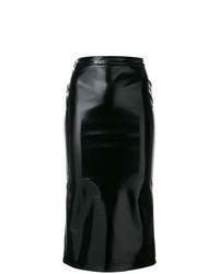 Jupe mi-longue noire McQ Alexander McQueen