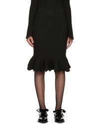 Jupe noire Lanvin