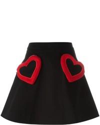 Jupe noire Love Moschino