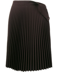 Jupe plissée noire Balenciaga