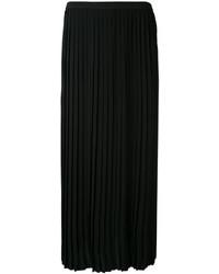 Jupe plissée noire MM6 MAISON MARGIELA