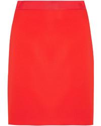 Jupe rouge Lanvin