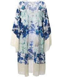 Kimono a fleurs original 9985721