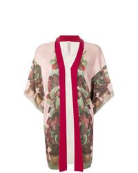 Kimono à fleurs rose Antonio Marras