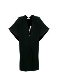 Kimono en tricot noir Valentino