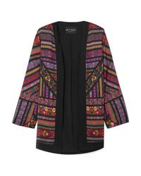 Kimono géométrique multicolore Etro