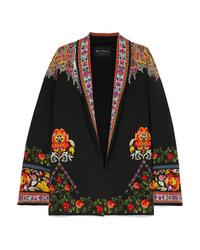 Kimono imprimé noir Etro