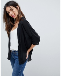 Kimono noir ASOS DESIGN
