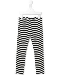 Leggings à rayures horizontales blancs Fendi