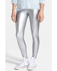 Leggings argentés