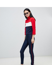 Leggings bleu marine Monki