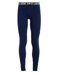 Leggings bleus marine Calvin Klein