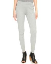 Leggings en laine gris Designers Remix