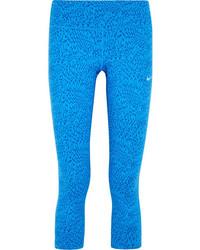 Leggings imprimés bleus Nike