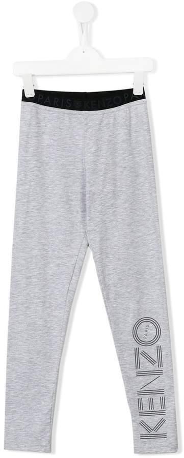 Leggings imprimés gris Kenzo