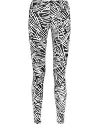 Leggings imprimés noirs et blancs Nike