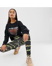 Leggings imprimés noirs New Girl Order