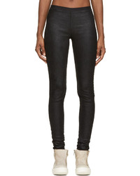 Leggings noirs Rick Owens