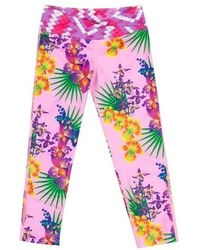 Leggings roses