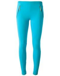 Leggings turquoise Emilio Pucci