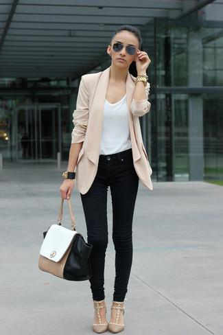 Beiges Femmes Des Porter Escarpins Comment Mode Tenues 758 qAw8q14t