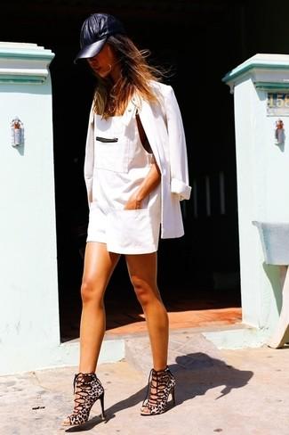 Blazer blanc Helmut Lang
