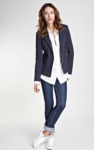 blazer bleu marine femme nike dunk high liberty achat. Black Bedroom Furniture Sets. Home Design Ideas