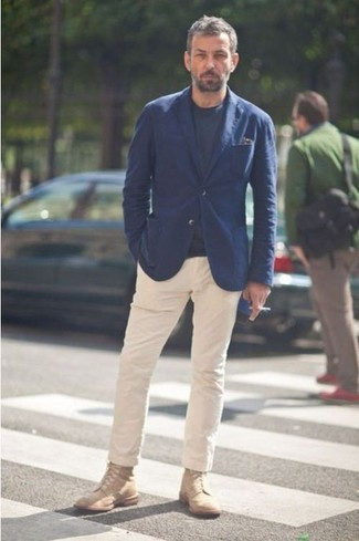 Pantalon chino beige Hilfiger Denim