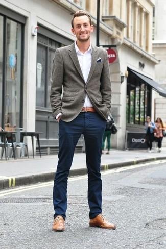 Pantalon chino bleu marine Tommy Hilfiger
