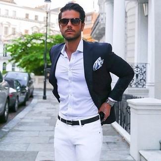 Mode hommes › Mode hommes années 30 Tenue  Blazer bleu marine ce77a4f341c