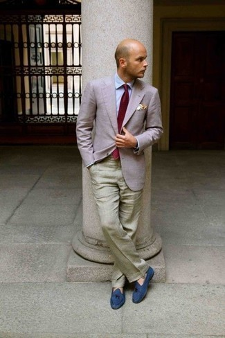 Pochette de costume beige Asos
