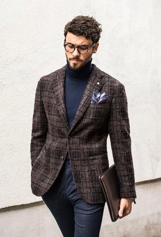 9646adc68c38 Tenue  Blazer en laine marron