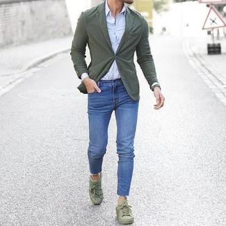 Chemise de ville bleu clair Alessandro Gherardi