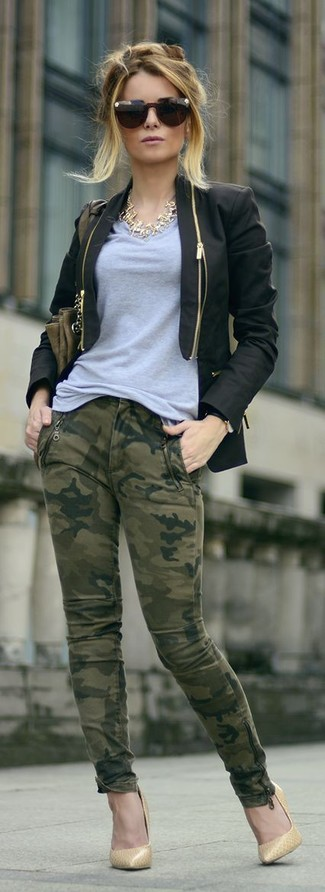 Escarpins en cuir marron clair Gianvito Rossi