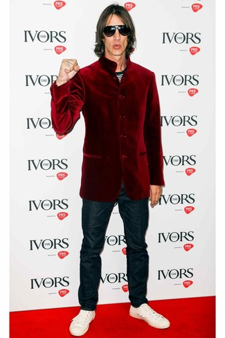 Veste bordeaux Chevignon