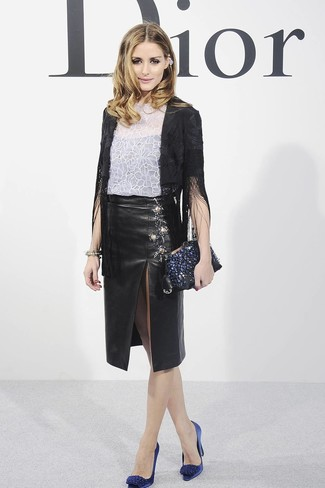 2db52b2bfc2b3 Comment porter une jupe en cuir (479 tenues) | Mode femmes ...