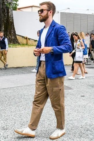 Veste bleue New Look
