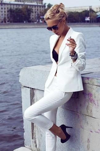 Blazer blanc Asos