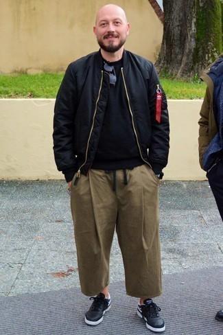 Pantalon chino marron Teddy Smith