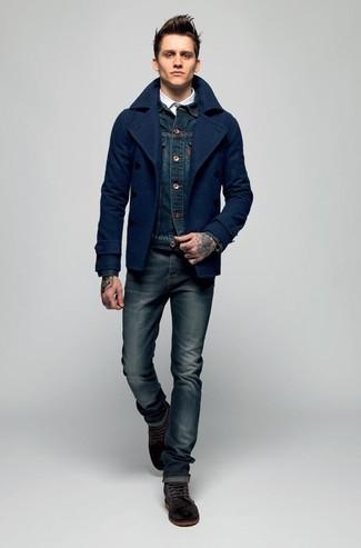 Veste en jean bleu marine s.Oliver