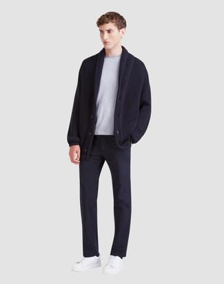 Pantalon chino bleu marine Dockers