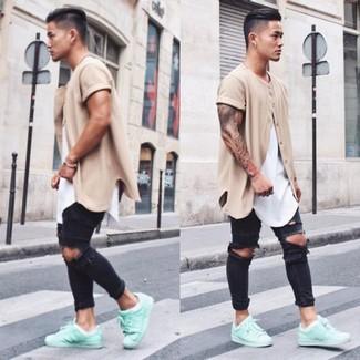 ab2377c56a4 Comment porter des baskets basses vert menthe (20 tenues)