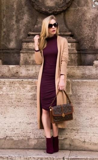 Quelles chaussures mettre avec une robe bordeaux