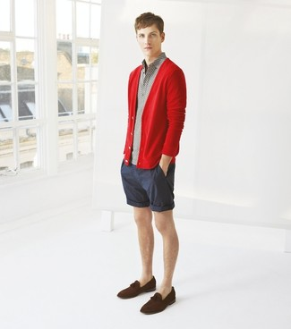 Cardigan rouge Trutex