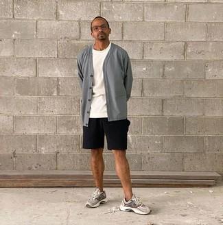 Pull gris Karl Lagerfeld