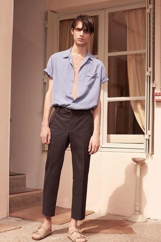 Chemise à manches courtes bleu clair O'Neill