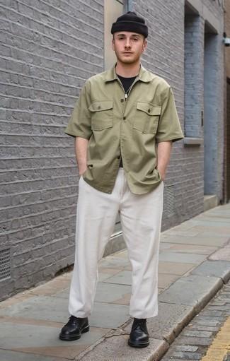 Pantalon chino blanc Tommy Hilfiger