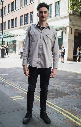 Pantalon chino noir Tommy Hilfiger