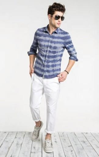 Pantalon chino blanc Spagnolo
