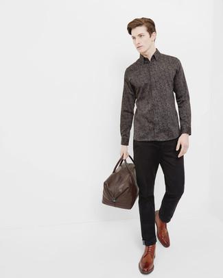 Pantalon chino noir Filippa K